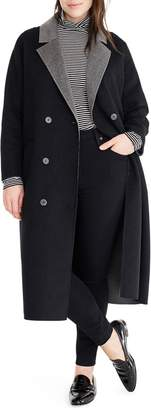 J.Crew Universal Standard for Double Face Wool Blend Coat