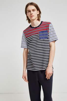 French Connenction Jumble Stripe T-Shirt
