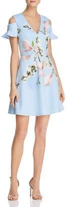 Ted Baker Effrae Harmony Cold-Shoulder Dress - 100% Exclusive