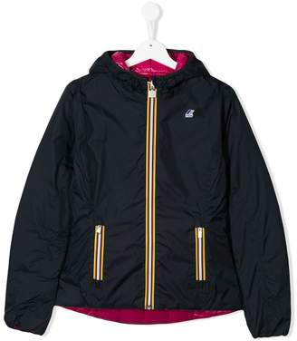 K Way Kids TEEN reversible down jacket