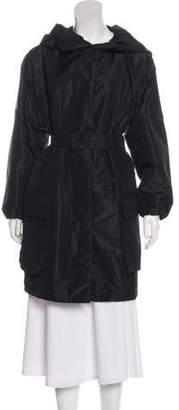 Prada Belted Knee-Length Coat