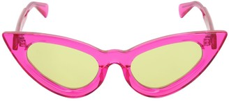 Cat Eye Kuboraum Berlin Y3 NEON PINK SUNGLASSES