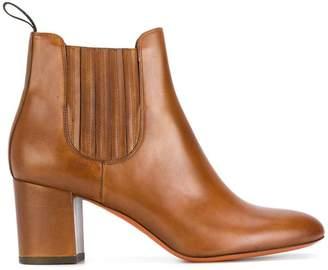 Santoni classic heeled boots