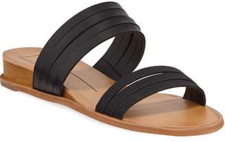 Dolce Vita Pais Snake-Print Strappy Flat Sandals
