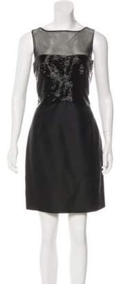 Valentino Embellished Silk Dress Black Embellished Silk Dress