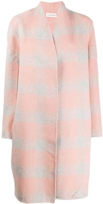 By Malene Birger checked oversized coat