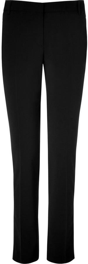 Paul Smith Black Wool Blend Pants