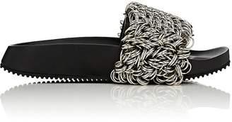 Alexander Wang Women's Suki Ring Leather Slide Sandals