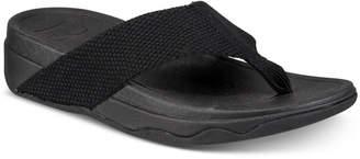 FitFlop Surfa Platform Flip-Flop Sandals Women Shoes
