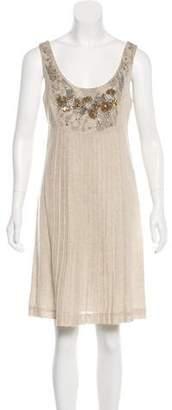 Tory Burch Embellished A-Line Dress