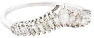 Ring 14K Diamond Tiara white 14K Diamond Tiara
