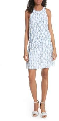 Joie Diega Drawstring Silk Dress