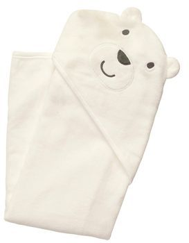 Carter's Baby Bear Hooded Towel