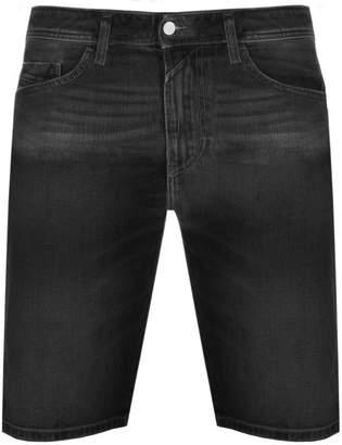 Diesel Thoshort Denim Shorts Grey
