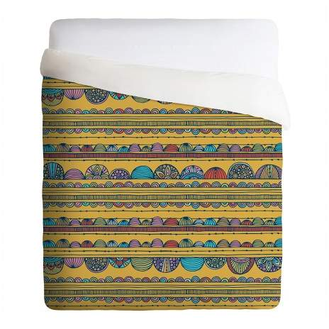 Yellow Valentina Ramos Tulip Duvet Cover Set