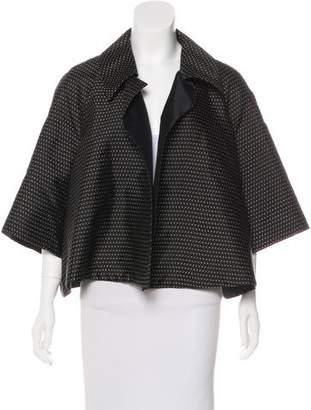 Prada Silk & Wool Cropped Jacket