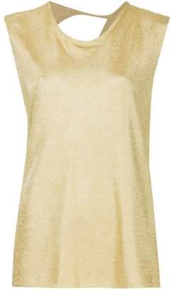 Kacey Devlin back cutout vest