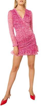 The East Order Penny Long Sleeve Minidress