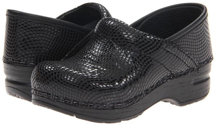 Dansko Gitte Moray (Toddler/Little Kid/Big Kid) (Black Moray Leather) - Footwear