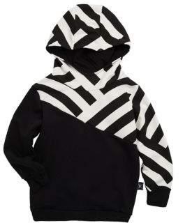 Nununu Baby's, Toddler's & Little Kid's Asymmetric Stripe Hoodie
