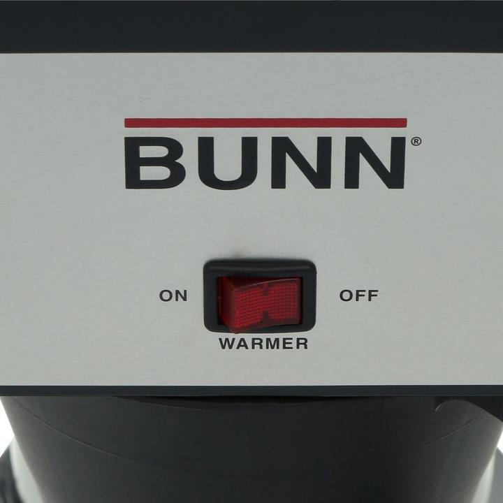 Bunn-O-Matic Velocity Brew 10-Cup Classic Home Coffee Maker