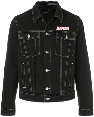 Kenzo denim jacket with stitching