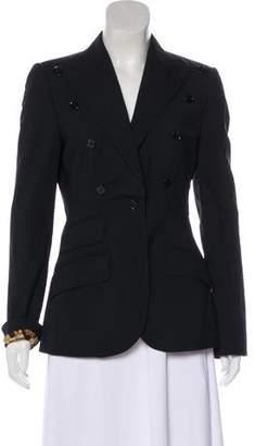 Dolce & Gabbana Structured Long Sleeve Blazer