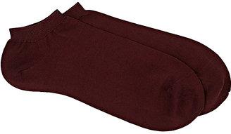 Barneys New York Men's Rib-Knit Ankle Socks $35 thestylecure.com