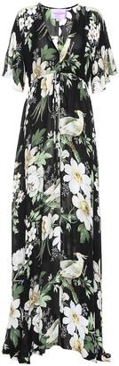 Carolina Herrera Floral silk dress