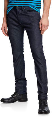Diesel Men's Thommer Slim Fit Denim Jeans with Tonal Stitching