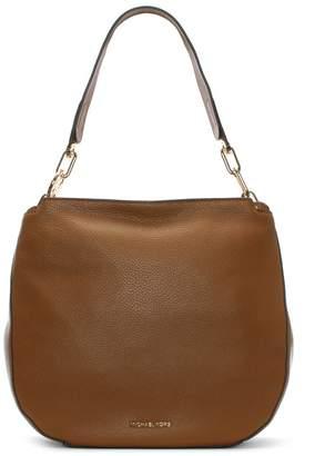 Michael Kors Fulton Acorn Pebbled Leather Hobo Bag