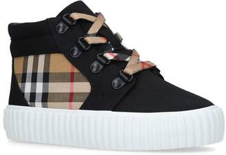 Burberry Emmett Vintage Check Sneakers