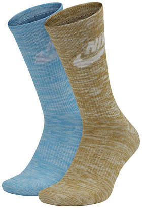 Nike Men's 2 Pair Sportswear Advance Crew Socks - Extended Sizes