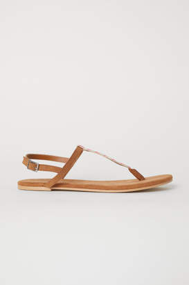 H&M Sandals - Yellow