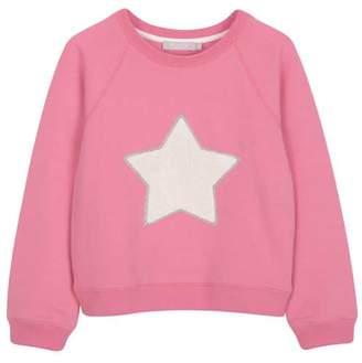 Mint Velvet Raspberry Star Sweatshirt