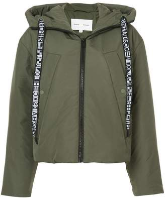 Proenza Schouler PSWL Hooded Puff Jacket