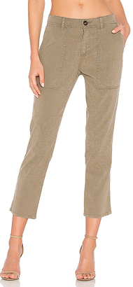 James Perse Workwear Pant in Army $225 thestylecure.com