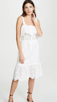 White Eyelet Summer Dress Shopstyle