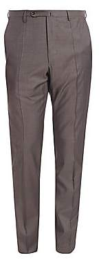 Incotex Men's Benson Sharkskin Dress Pants