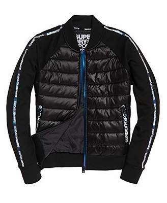 Superdry Women's CORE Gym TECH Hybrid Bomber Jacket