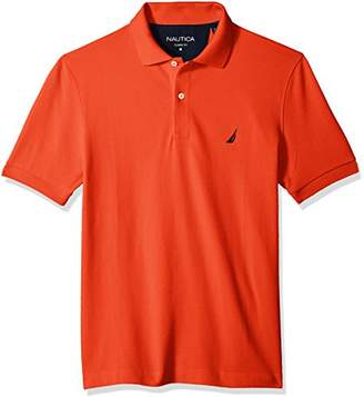 Nautica Men's Classic Short Sleeve Deck Polo Shirt