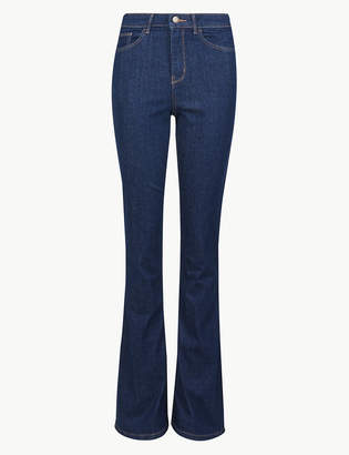 4ba70c1d5a M S CollectionMarks and Spencer High Waist Skinny Flare Jeans