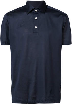Kiton short sleeved polo shirt