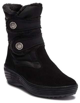Pajar Caroline Faux Fur Snap Platform Boot