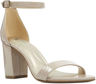 Bandolino Block-Heel Dress Sandals - Armory