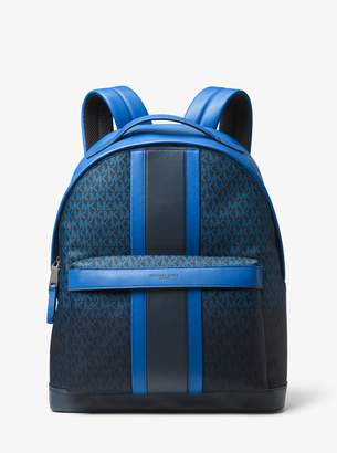 Michael Kors Odin Logo Stripe Backpack