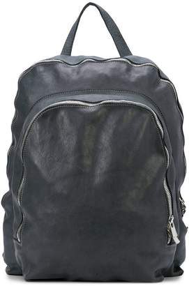 Guidi zipped backpack