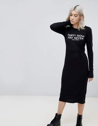 Cheap Monday Late Party Now Midi Dress