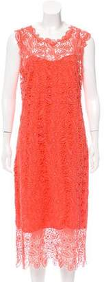Ermanno Scervino Guipure Lace Midi Dress w/ Tags