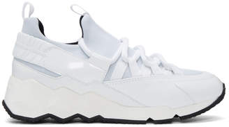 Pierre Hardy White Trek Comet Sneakers